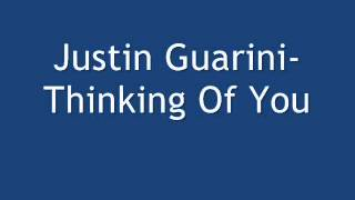 Watch Justin Guarini Thinking Of You video