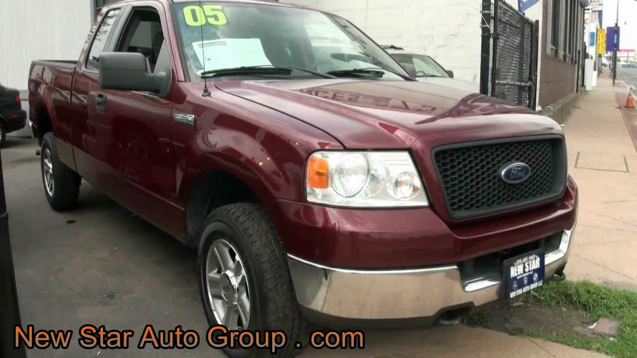 2005 Ford F150 Xlt Supercab Long Bed Triton V8 4wd Pickup