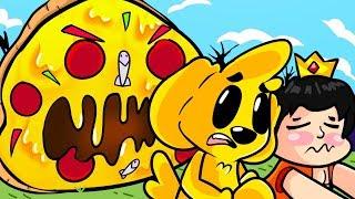 UNA PIZZA GIGANTE NOS QUIERE COMER!! 🍕 MINECRAFT