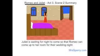 Romeo and Juliet - Act 3, Scene 2 Summary