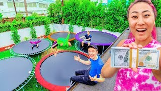 LAST TO LEAVE BACKYARD TRAMPOLINE PARK WINS $10,000