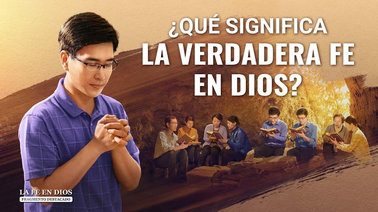 """Fragmento 6 de película evangélico """"La fe en Dios"""": ¿Qué significa la verdadera fe en Dios?"""