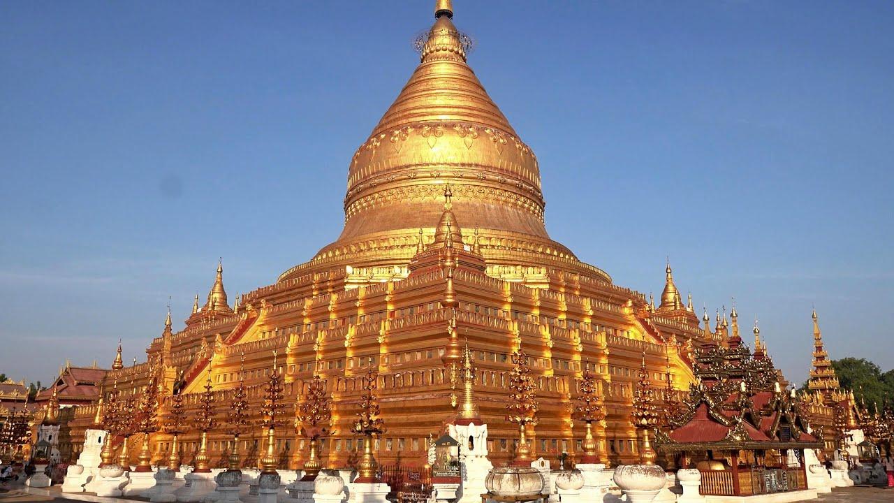 Temples of Ancient Bagan, Myanmar in 4K (Ultra HD) - YouTube