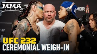 UFC 232 Ceremonial Weigh-In Highlights - MMA Fighting