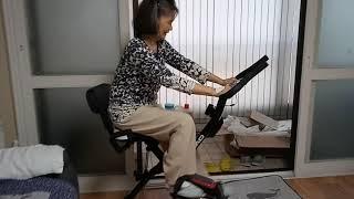 헬스자전거타기로다리근육 만들기