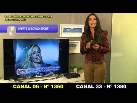 Aprenda a sintonizar a RedeTV em parabólicas no aparelho Century