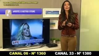 Aprenda a sintonizar a RedeTV! em parabólicas no aparelho Century