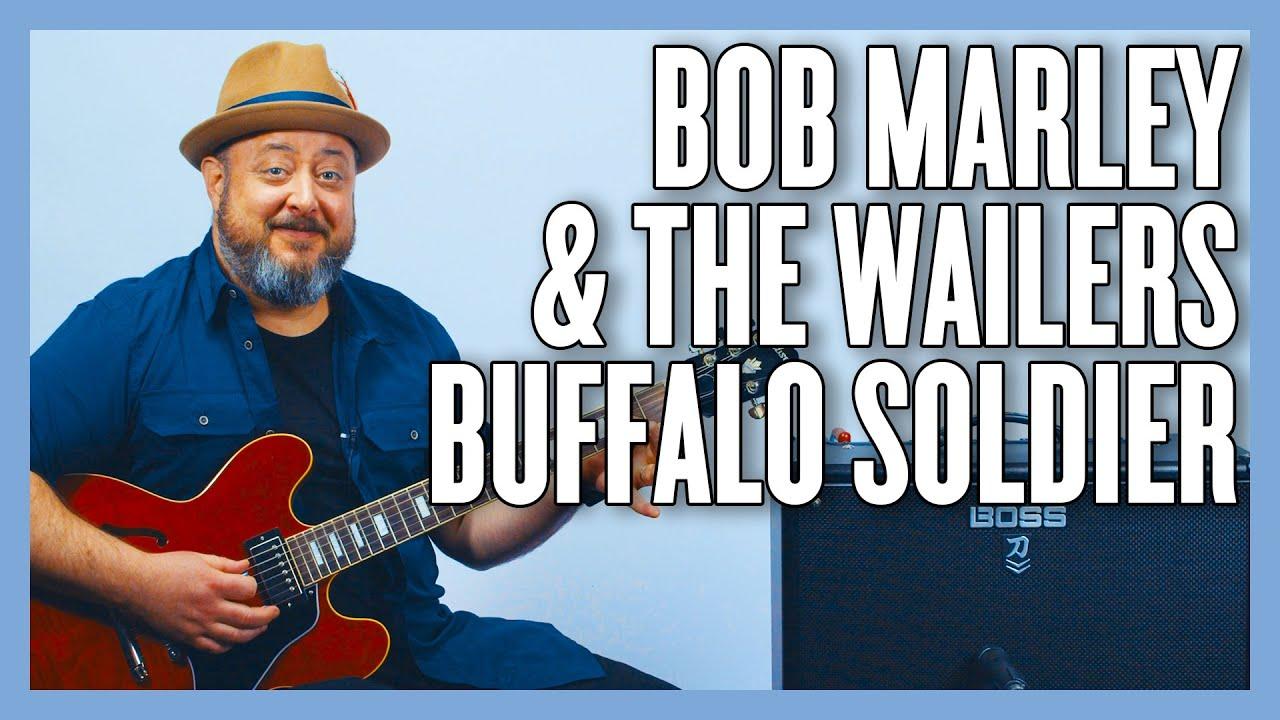 Bob Marley & The Wailers Buffalo Soldier Guitar Lesson + Tutorial