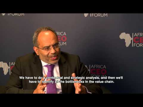 AFRICA CEO FORUM 2015 - Interview Carlos Lopes