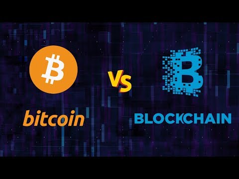 Bitcoin Vs Blockchain | Difference Between Bitcoin and Blockchain