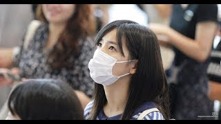 1일 서울 강서구 김포국제공항으로 출국하는 AKB48 시타오 미우(下尾みう)