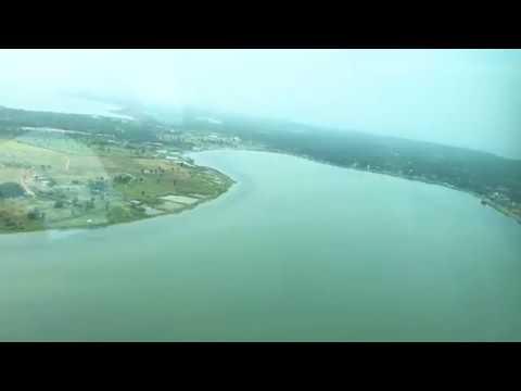 Take-off sequence from Batticaloa