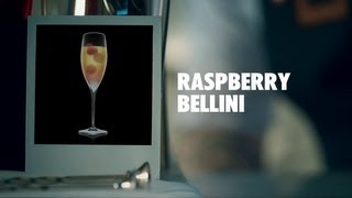 How To Mix A Raspberry Bellini Cocktail | Absolut Drinks