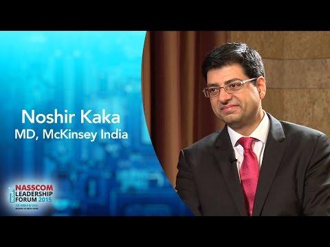 Noshir Kaka, MD, Mckinsey India
