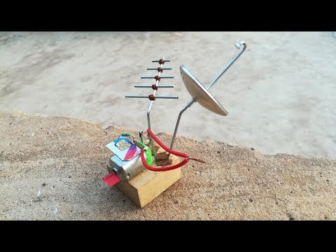 Free Energy Device catching SIM CARD Signals | Black RoboBrain