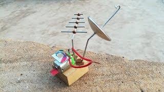 Free Energy Device catching SIM CARD Signals   Black RoboBrain