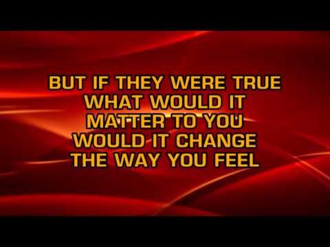Ricky Van Shelton - Somebody Lied (Karaoke)