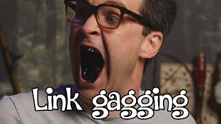 Rhett and Link: Link gagging moments #1