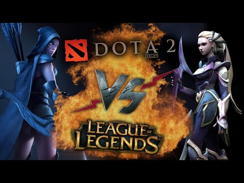 видео: Рэп Баттл - dota 2 vs. league of legends