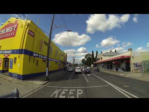 Video 502 - Big4 Caravan Park, Coburg towards SkyHigh on Mount Dandenong Pt 1/2