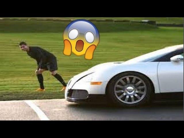 רונאלדו נגד המכונית המהירה בעולם - מי יותר מהיר? (התוצאות יפתיעו אותכם)