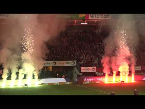 Vuurwerk voor NEC FC Utrecht