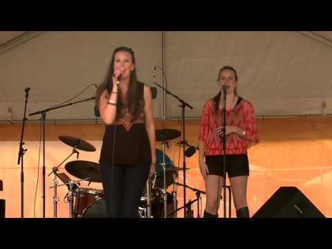 Destyni/Tessa ~ Bi-Mart Willamette Country Music Festival - Brownsville, Oregon