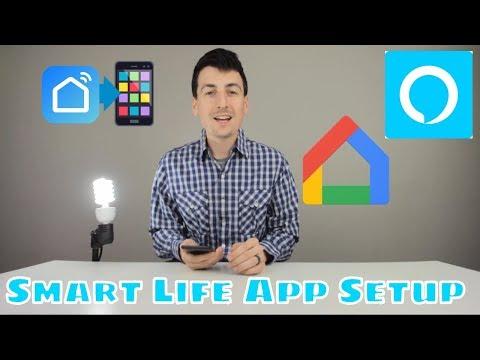 Smart Life App Setup Amazon Alexa | Smart Life App Setup Google Assistant Google Home