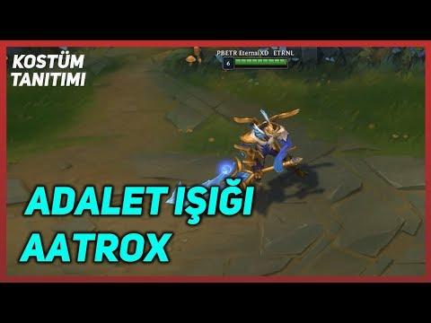 Justicar Aatrox (Skin Preview) League of Legends