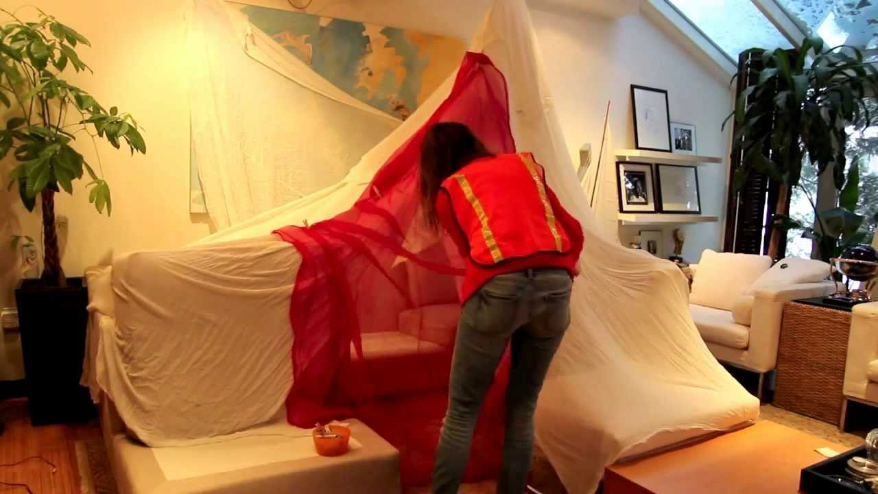 Awesome Winter Blanket Fort