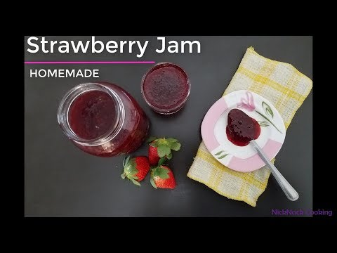 Instant Pot || Strawberry Jam Recipe || No Artificial Flavors | by Nicknack Cooking