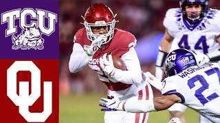 TCU vs #9 Oklahoma Highlights | NCAAF Week 13 | College Football Highlights