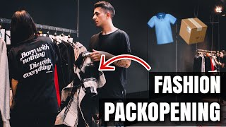 XXL FASHION PACKOPENING! (LiveFastDieYoung, Comfort Colors, ..) 👕📦