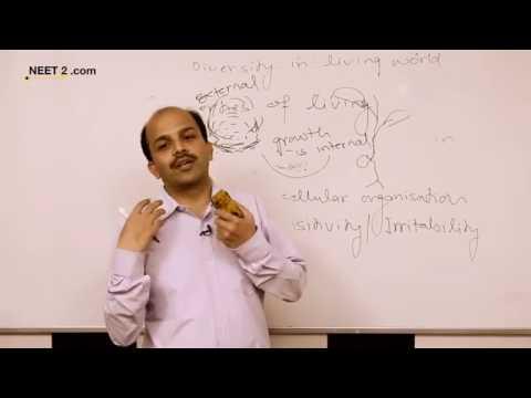 Diversity of Life Forms Part 1 by Jitendra Singh NEET AIIMS NEET AIIMS