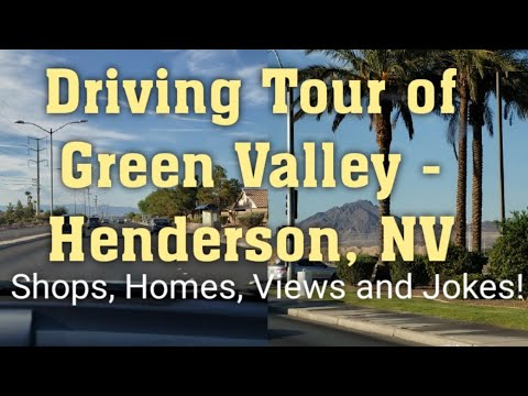 Driving Tour Of The Green Valley Area Of Henderson, NV