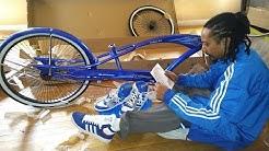 My new Stretch Beach Cruiser Bike 👍😄💯