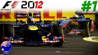 F1 2012 KARRIERE #1: Aller Anfang ist schwer!