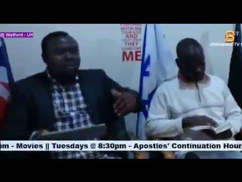 Pastor Festus @Apostles' Continuation Hr (UK) - Jesus Loves you
