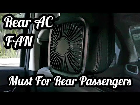 Rear AC Fan | Rear AC Vent Alternative | Car Fan