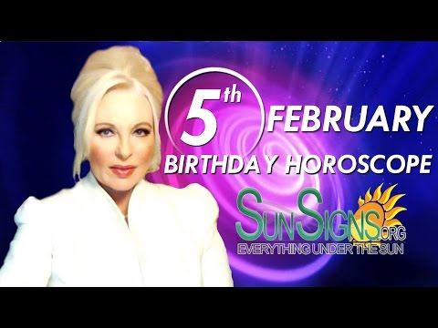 Birthday February 5th Horoscope Personality Zodiac Sign Aquarius Astrology