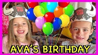 Ava's 6th BIRTHDAY!!!! Happy Birthday With a Family Party