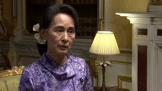 AUNG SAN SUU KYI \'ATTACKS ON MUSLIMS NOT ETHNIC CLEANSING\' - BBC NEWS