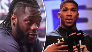 ANTHONY JOSHUA SAYS HE STILL WANTS DEONTAY WILDER EVEN IF HE LOSES TO TYSON FURY!!