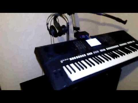 moduł MP3 testy na Yamaha PSR-S750