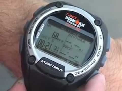 Timex Ironman Global Trainer With Gps How To Use Multisport