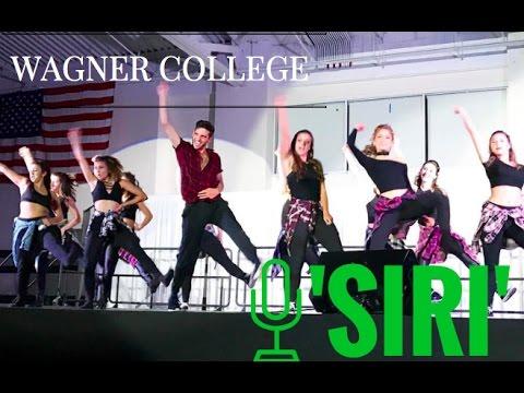 Wagner College Dance Team 'SIRI'   Songfest 2017