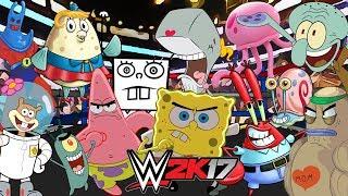 SPONGEBOB SQUAREPANTS   Royal Rumble WWE 2K17
