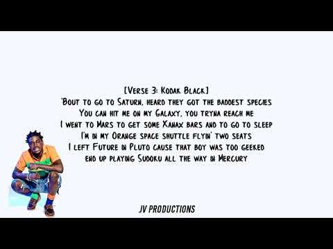 Kodak Black - Codeine Dreaming Feat. Lil Wayne Lyrics