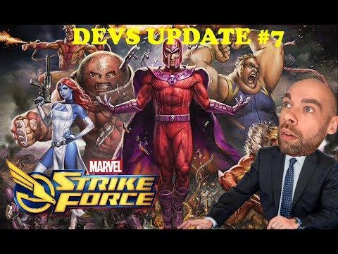 Blog des Développeurs #7 + Datamining - Marvel Strike Force FR