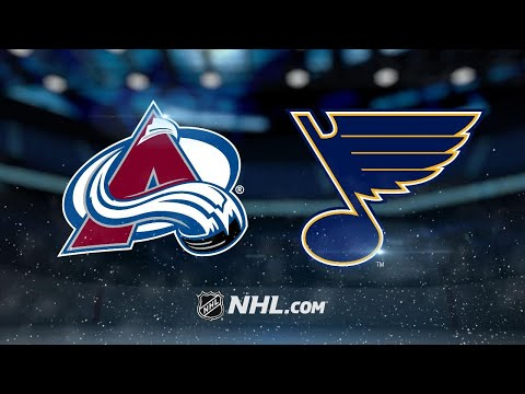 Steen, Hutton lead Blues to win over Avalanche